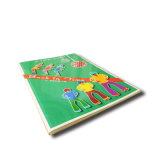 Impressão quente do livro da foto do livro da placa da venda