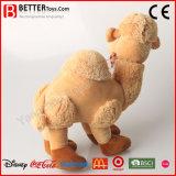 Brinquedo macio enchido bonito por atacado do camelo do luxuoso