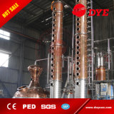 Pot distillation permanente Alcool Ethanol Fermentation Distillation Equipment