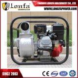 6.5HP portatif pompe alimentée au gaz de transfert de l'eau de 3 pouces pour l'irrigation d'inondation