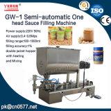 Une machine de remplissage principale semi-automatique de sauce (GW-1)