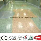 Зеленый пол спорта PVC оптовой продажи фабрики для медицинского соревнования Boya 2.6mm стационара офиса коммерческого использования