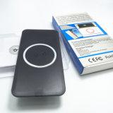 Almofada sem fio do carregador de Qi do dispositivo móvel do telefone de pilha para Samsung