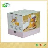 Kundenspezifischer Pappgeschenk-Becher-Kasten mit Belüftung-Fenster (CKT-CB-145)