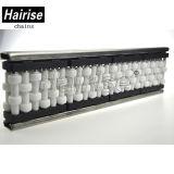 Trilho plástico do rolo de guia do transporte do produto comestível de Hairise