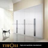 販売Tivo-0071hwのための引出しの戸棚の家具が付いている白いワードローブ