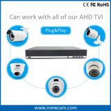 16CH 720p Tvi 또는 Ahd 또는 960h 잡종 안전 DVR