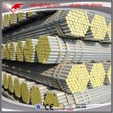 ms galvanizado Scaffolding Welded Steel Tube de la INMERSIÓN caliente 1.5inch