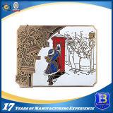Медальон монетки возможности сувенира с мягкой эмалью