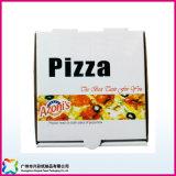 Rectángulo Rectángulo-Acanalado de la pizza de Kraft de la pizza - modificar el rectángulo acanalado de Kraft para requisitos particulares