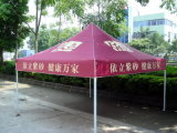 Gazebo do estilo chinês com telhado vitrificado