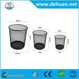 Cestino su ordinazione Wastebin/cestino residuo dell'immondizia dello scomparto di rifiuti della latta di rifiuti della maglia del metallo