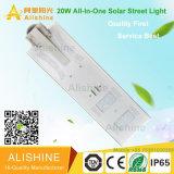 IP67 réverbère solaire du watt DEL de la haute énergie 20