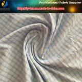 Nilón de sarga Spandex hilo teñido de tela de verificación para la camisa (yd1166)