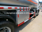 18000Lアルミニウム燃料のタンカーが付いているSinotruk T5g 8X4の給油車