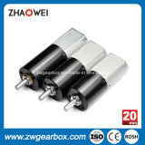 Costume 20mm motor da caixa de engrenagens de uma C.C. de 12 volts em China