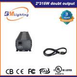 El lastre electrónico de CMH 630W crece las luces 1000W HPS para hidropónico