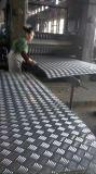Strato Checkered del piatto dell'impronta di alluminio luminosa di rivestimento