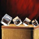 3D Ambacht van het Blok van de Kubus van de Laser Kristal Gegraveerde voor Herinnering