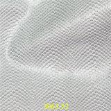 Популярная мягкая кожа материала ботинка PU зерна Snakeskin
