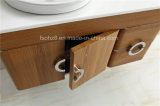 Vanidad vendedora caliente del cuarto de baño del acero inoxidable con el anillo de toalla (099)