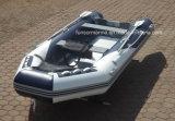 Vloer 3.8m, de Opblaasbare Rubberboot van het aluminium van de Goede Kwaliteit