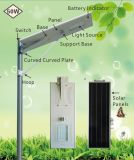 50watts PIR 운동 측정기를 가진 한세트 태양 LED 가로등