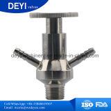 Tipo manual higiénico válvula del acero inoxidable del muestreo
