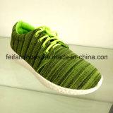 Bolidカラー(FFZL1031-05)の標準的な男女兼用のキャンバスの注入の靴