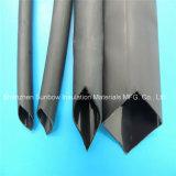 3: 1接着剤によって並べられる中型の壁の熱い溶解のPolyolefinの熱-縮みやすい管