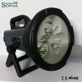 Batteria ricaricabile dell'indicatore luminoso di ricerca del CREE LED di alto potere 30W