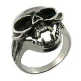 De gotische Juwelen van de Ring van de Gunst van de Mensen van het Roestvrij staal Zilveren