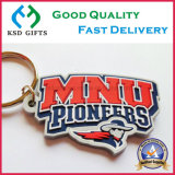 Custom Soft PVC Rubber Letters Key Chains para pioneiros