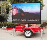Signe d'affichage plein écran de la remorque pour la publicité et la gestion du trafic