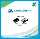 Redresseur extérieur de capacité de DÉCHARGE ÉLECTROSTATIQUE de support de composante électronique pour la carte