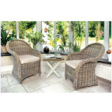 Outdoor Garden Patio Furniture Wicker / Rattan Armchair Leisure Dining Chair