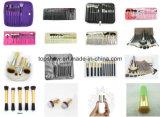 Волос высокого качества 5PCS фабрики косметика оптовых синтетических Washable составляет комплект щетки
