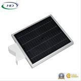 Jardín del Ce y del sensor LED del certificado 8W PIR de RoHS/luz de calle solares integrados