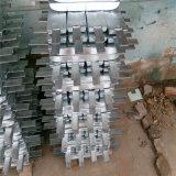 Equipamento de equipamento de ânodo marinho com ânodo de zinco com sacos marinhos Anodo de zinco de alumínio
