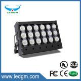 L'UL Culs ha elencato 5-7 anni della garanzia IP65 700W LED di inondazione di UL impermeabile Dlc dell'indicatore luminoso elencato