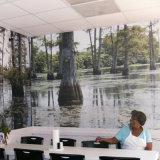 La impresión personalizado Diseño Bosque Gráficos vinilo auto-adhesivo de pared