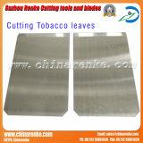Il tabacco lascia le lamierine di taglio della ghigliottina