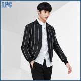 Classic Design Fashionable Stripe Jacket for The Autumn Clothes