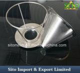 L'acier inoxydable du filtre de café 304 innovateurs se renversent au-dessus du dispositif d'écoulement de café