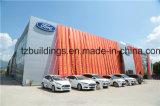 Быстро установите структурно хранение выставочного зала стального автомобиля с высоким качеством