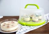 De de plastic Dekking en Carrier van de Cake die in China wordt gemaakt