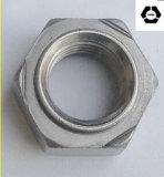 DIN929 Kohlenstoffstahl-Hex Schweißungs-Muttern ASTM