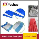 Il tetto di plastica Sheet/3 del tetto Tile/UPVC del PVC mette a strati le mattonelle di tetto dell'isolamento termico UPVC 1130mm