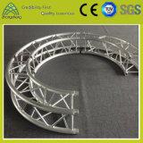 アルミニウム特別形のトラス照明表示円のトラス