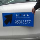Etiqueta magnética do desenhador impermeável, decalques do ímã da forma para o carro